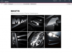 spare parts catalogs Man Mantis 2018 v6.0 / v579 Parts Catalog