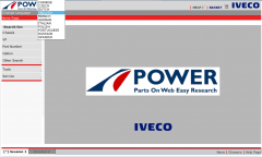 spare parts catalogs Iveco Power for Trucks and Buses Parts Catalog 2017