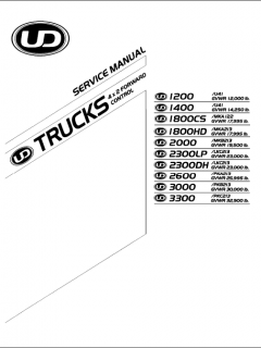 repair manuals Nissan UD Trucks