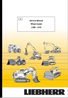 repair manuals Liebherr L506 - L510 Wheel Loader Service Manual PDF