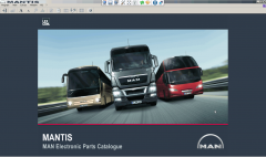 spare parts catalogs Man Mantis 2015 / v519 Parts Catalog