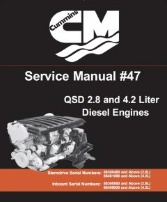 repair manuals Cummins QSD 2.8 and 4.2 Liter Diesel Engines Service Manual PDF