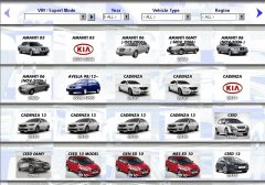 spare parts catalogs KIA Microcat 2015 catalog of spare parts
