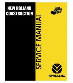 repair manuals New Holland LS180 & LS190 Skid Steer Loaders Service Manual PDF