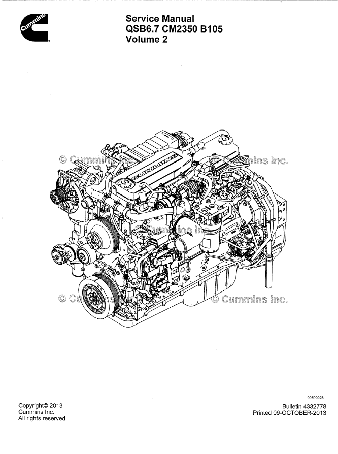 6 7 Cummin Engine Diagram Manual Guide