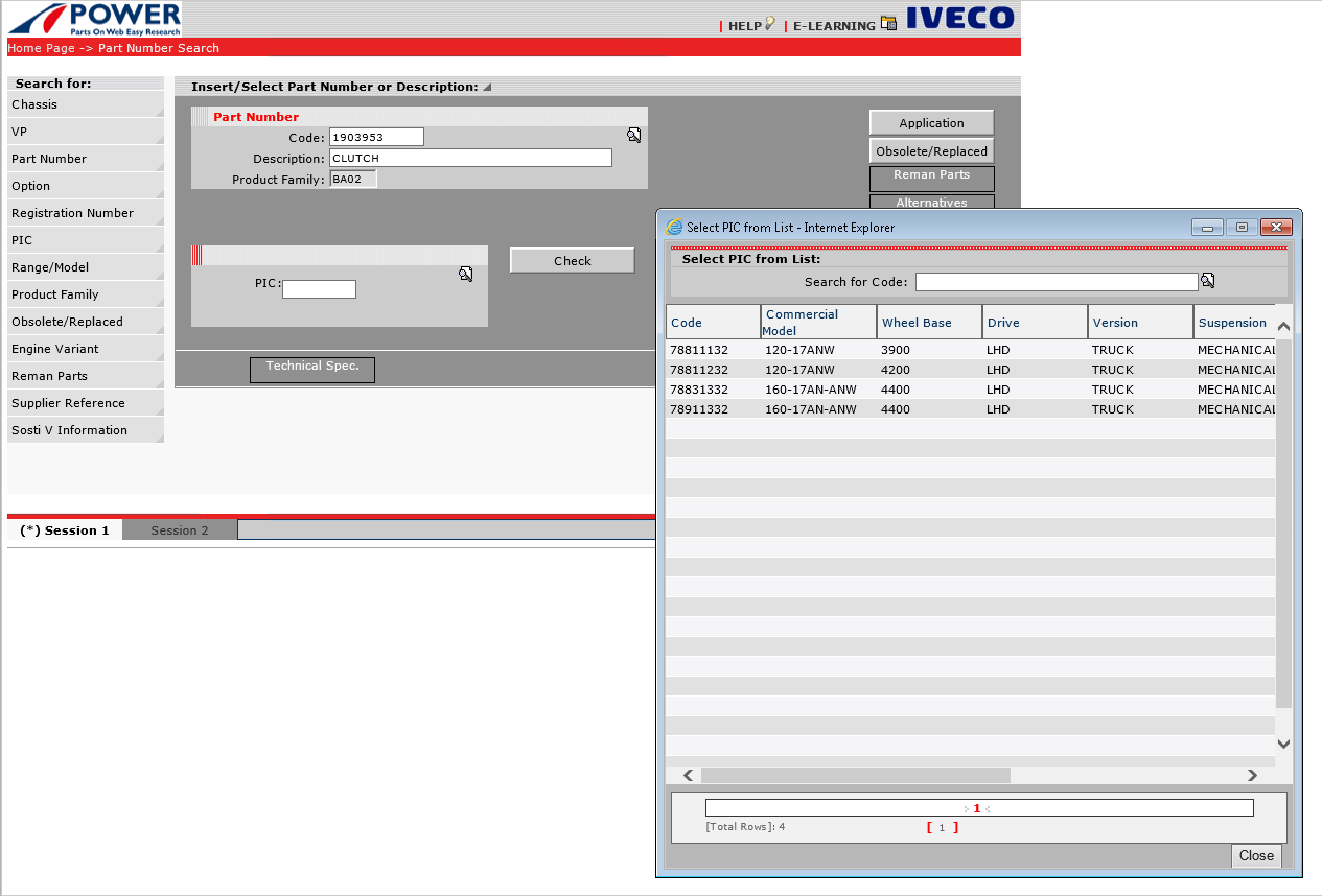 Iveco Power 07/2018 for Trucks and Buses Parts Catalog