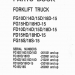 spare parts catalog, repair manual Komatsu Forklift - 6