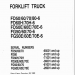 spare parts catalog, repair manual Komatsu Forklift - 2