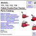 spare parts catalogs Raymond forklift - 1