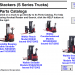spare parts catalogs Raymond forklift - 3