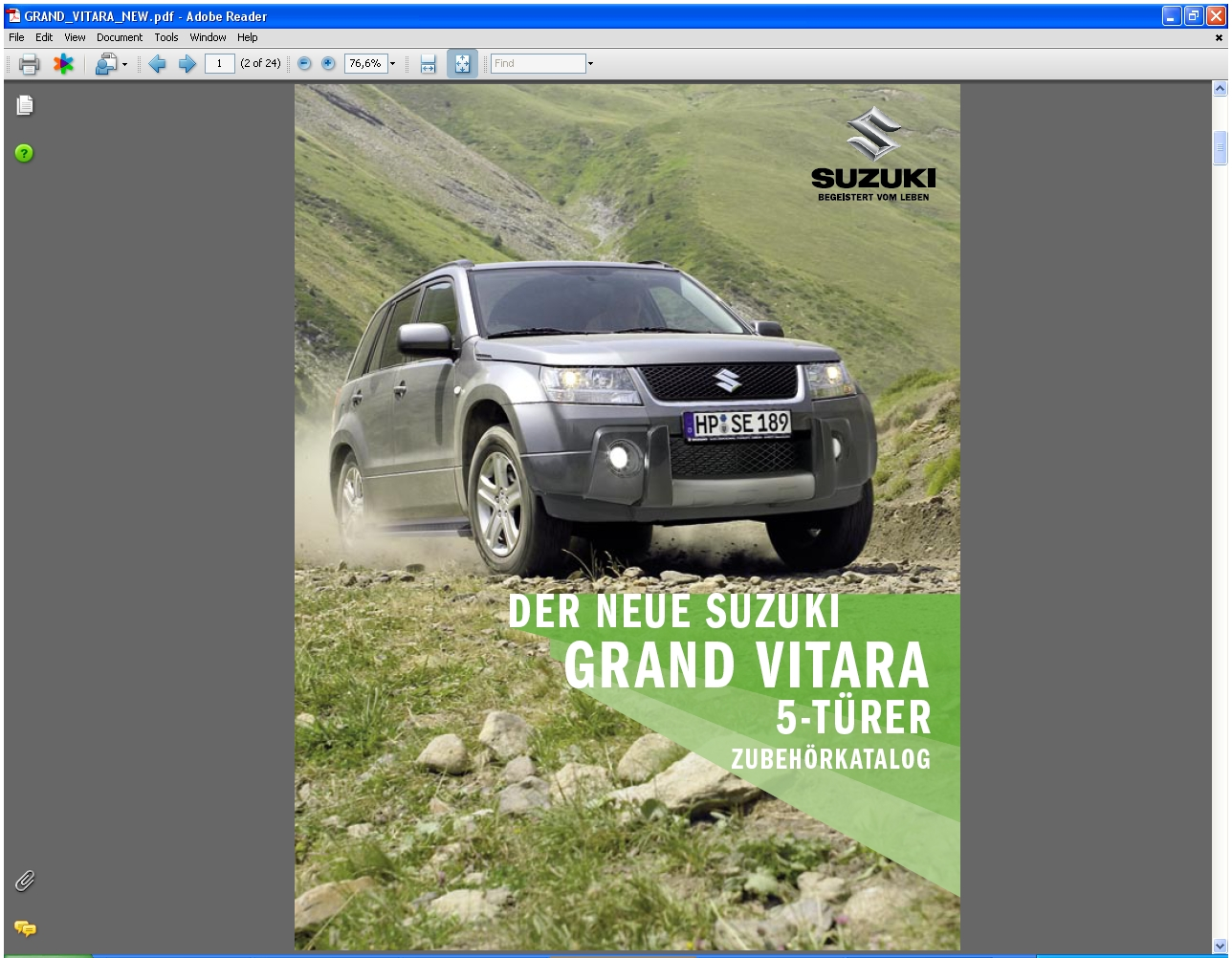 Suzukiacc on 2010 Suzuki Grand Vitara Parts Diagrams