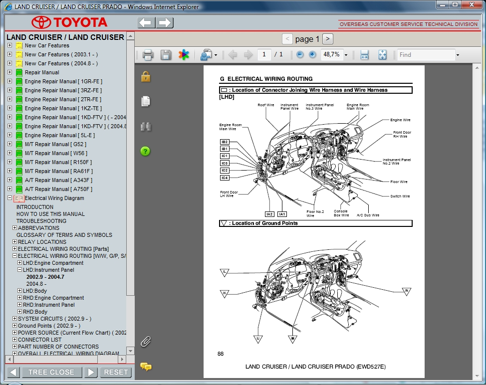 toyotalandcruiser toyota prado wiring diagram pdf efcaviation com prado 150 wiring diagram at webbmarketing.co