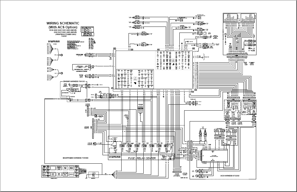 bobcat s130 bobcat 753 wiring diagram pdf 753 bobcat electrical wiring diagram