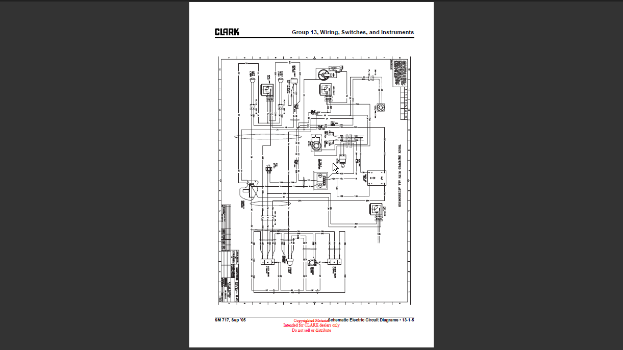 Clark Forklift Wiring Schematic Car Wiring Diagrams Explained \u2022 Clark  Fork Lift Hydraulic Diagram 1966