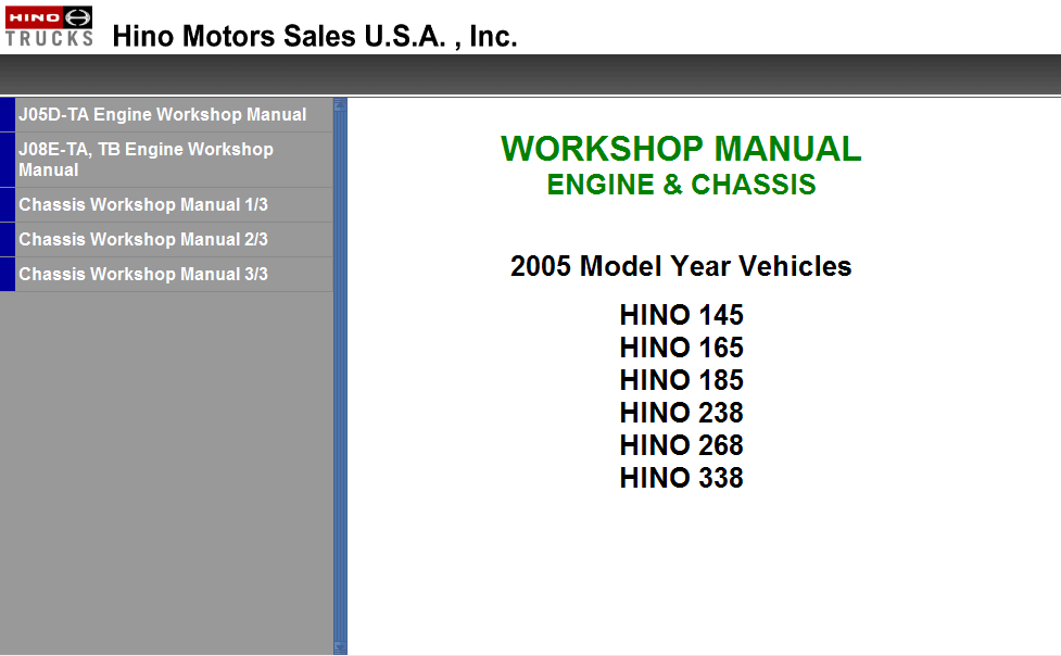 western wiring diagram hino workshop manual 2008 western wiring diagrams hino workshop manual 2008