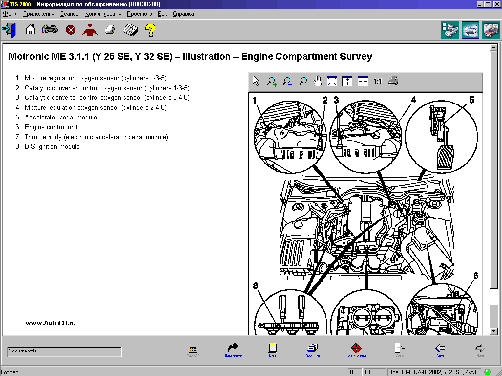 repair manuals opel tis + wiring diagrams - 3