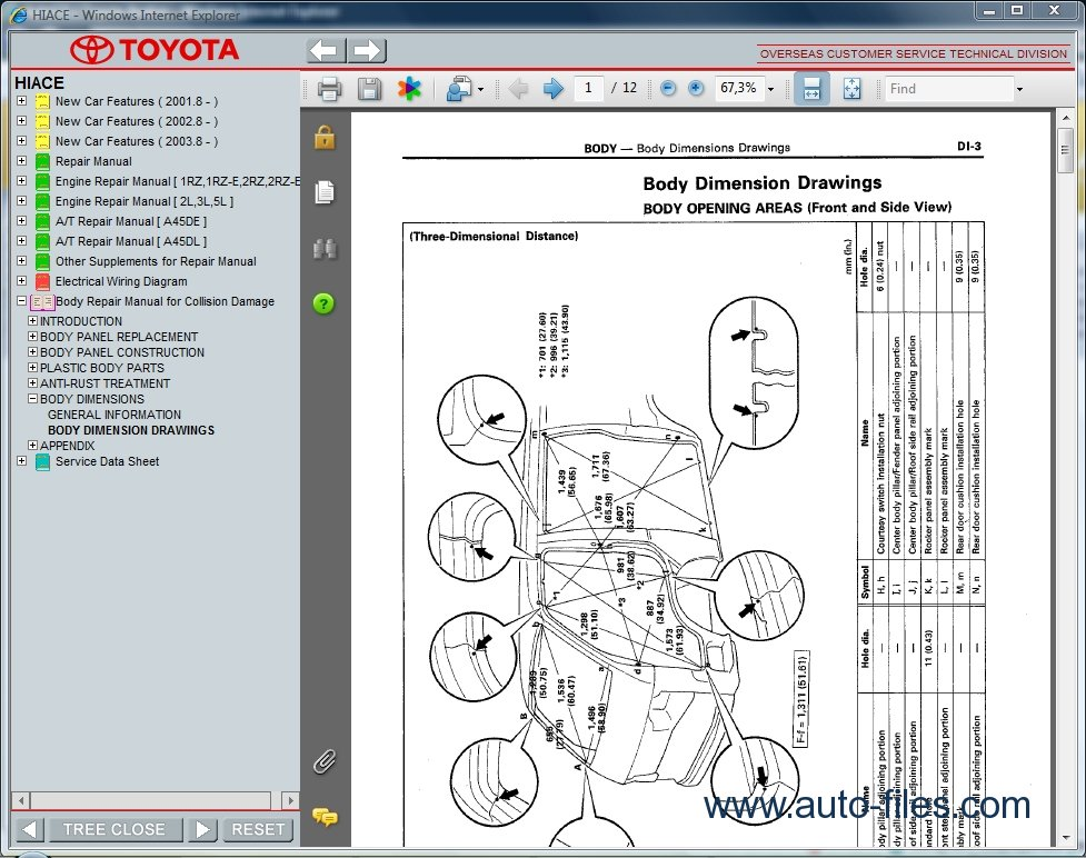 Toyota Hiace Wiring Diagram Free Download : Toyota hiace repair manuals download wiring diagram