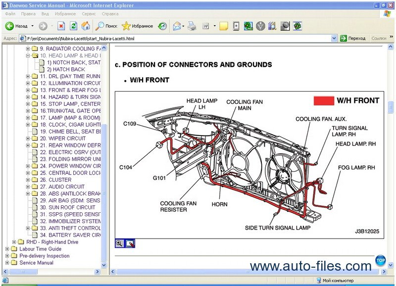 Daewoo    Chevrolet Tis Europe  Repair Manuals Download  Wiring Diagram  Electronic Parts Catalog