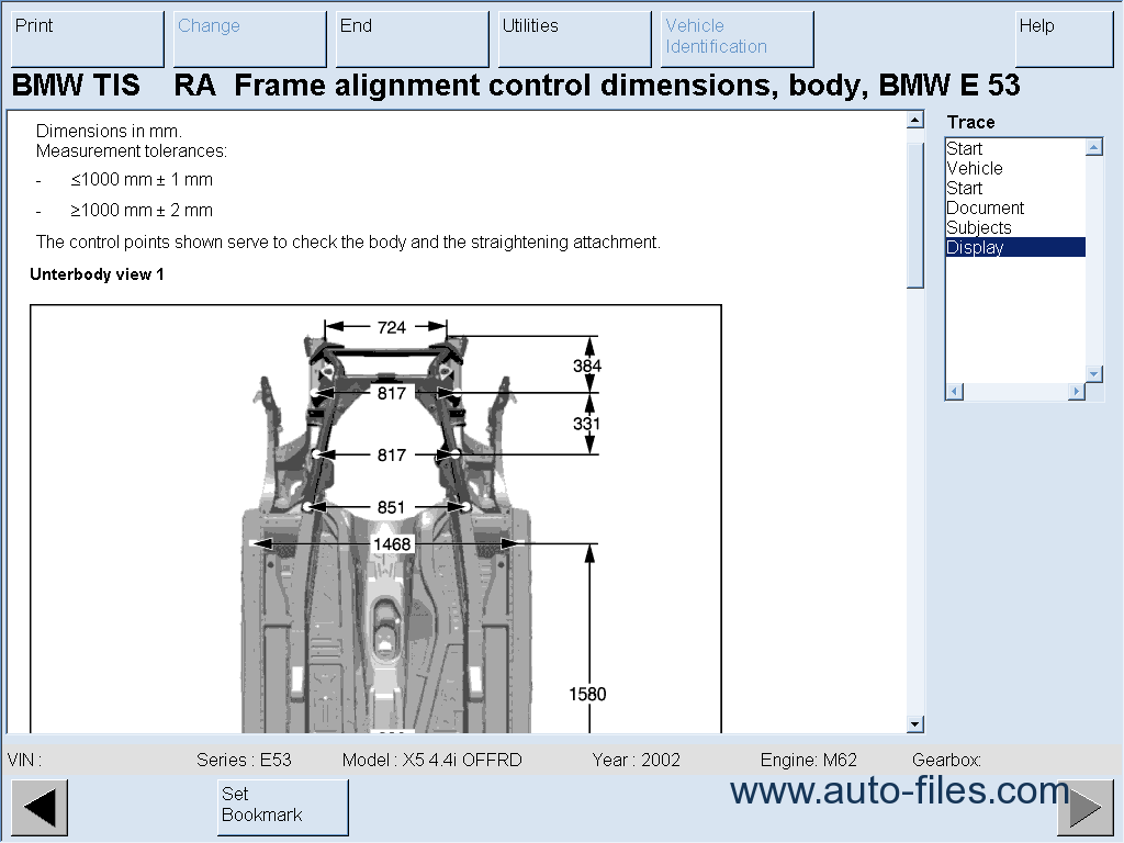 repair manuals BMW TIS English Technical Information System - 6
