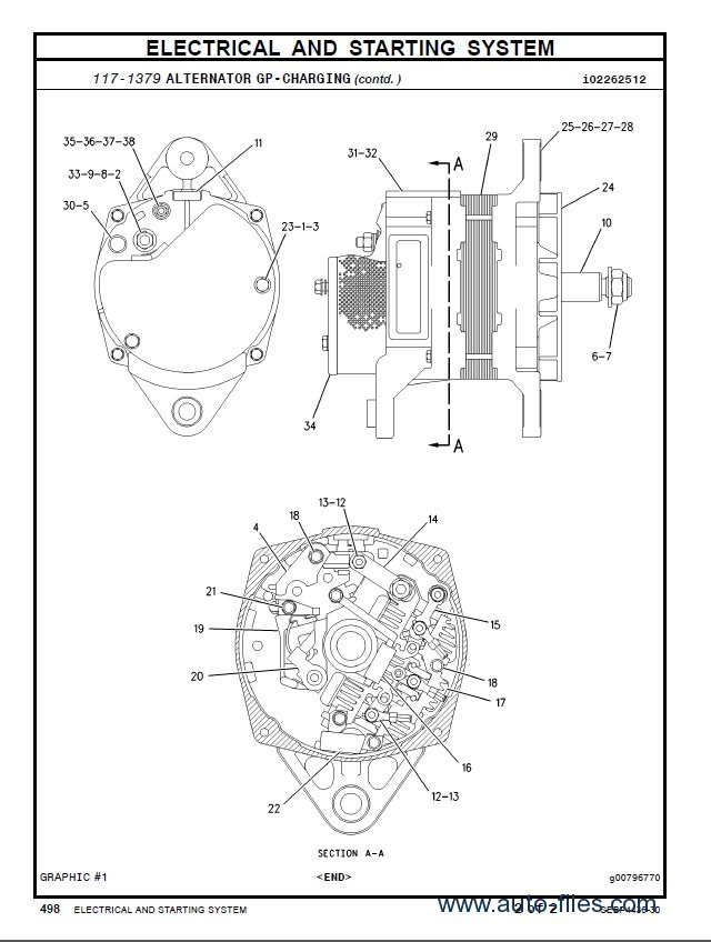 Caterpillar C7 Parts Manual