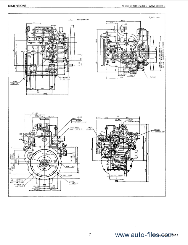 kubota 70mm stroke diesel engine workshop manual pdf