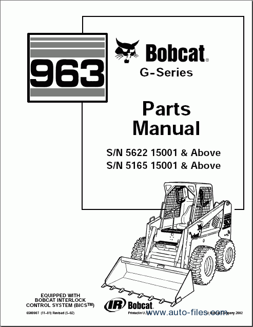 bobcat loaders  spare parts catalogs download electronic