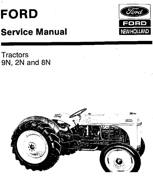 new holland ford 9n 2n 8n tractors service manual pdf