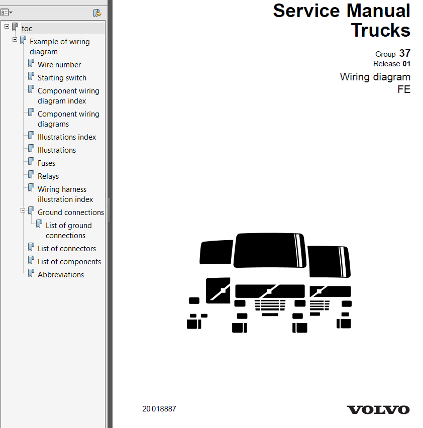 volvo truck wiring diagrams on international 4700 diagram
