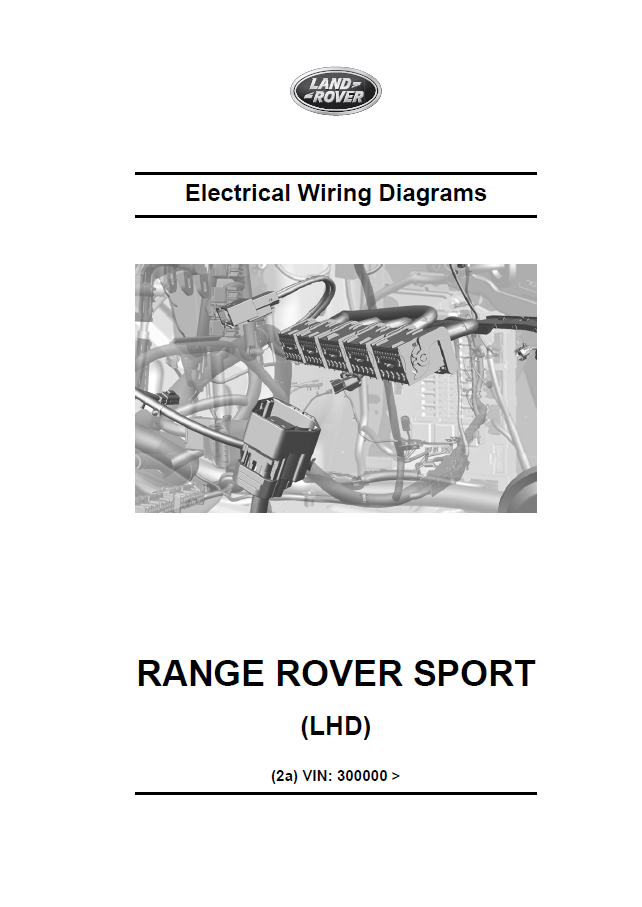 Range Rover Sport L494 Repair Manual Manual Guide